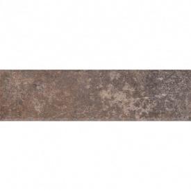 Клинкерная плитка Paradyz Viano grys struktura elewacja 6,6x24,5 см