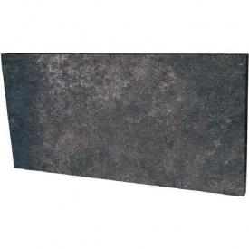 Клинкерная подступень Paradyz Viano antracite struktura 14,8x30 см