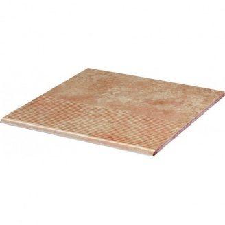 Клінкерний східець Paradyz Ilario beige prosta struktura 30x30 см