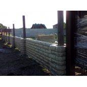 Встановлення двостороннього бетонного паркану Skala