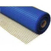 Сетка стекловолоконная фасадная 160 г/м2 5х5 мм 1х50 м синяя