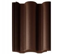 Цементно-піщана черепиця Braas Таунас коричневий