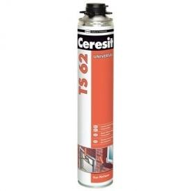Піна монтажна професійна CERESIT TS-62 PRO 750 мл