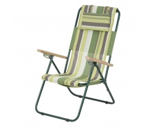 Крісло-шезлонг Ясен 20 мм текстилен зелена смуга Вітан
