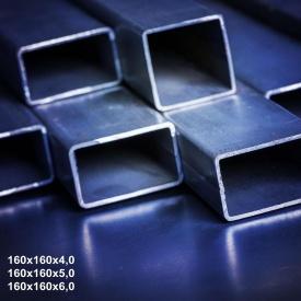 Труба профільна сталь 1-3пс 160х160х4 мм 12 м