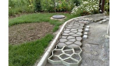 Виготовлення тротуарної плитки в домашніх умовах