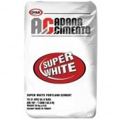 Цемент белый Adana М-600 25 кг