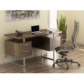 Письменный стол Loft design L-81 1450х750х650 мм Орех Модена