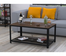Журнальний столик V-105 Loft-Design 1050х500х600 мм дсп горіх-модена
