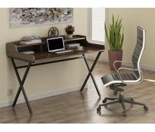 Компьютерный стол Loft-design L-10 750х1160х580 мм лдсп орех-модена