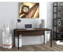 Письменный стол Loft design L-3p 1380х750х700 мм лдсп орех-модена