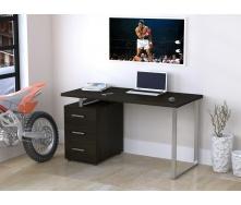 Письмовий стіл Loft-design L-27-MAX 1350х750х650 мм дсп венге-корсика