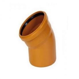 Колено канализационное 110 мм 30 градусов