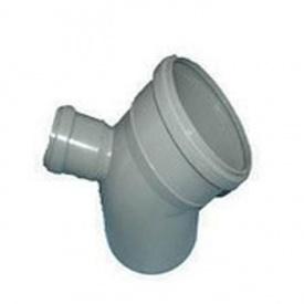 Тройник канализационный 110х50 мм 45 градусов