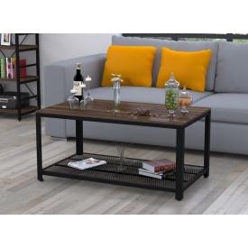 Журнальный столик V-105 Loft-Design 1050х500х600 мм дсп орех-модена