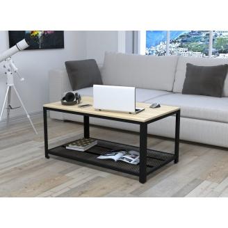 Журнальний столик V-105 Loft-Design 1050х500х600 мм дсп світлий дуб борас