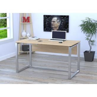 Компьютерный стол Loft-design Q-135 1350х750х700 мм с царгой дсп дуб-борас