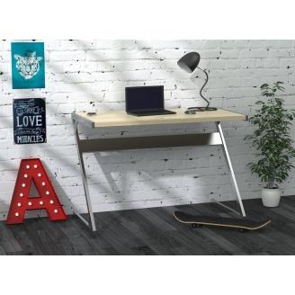 Письменный стол Loft-design Z-110 1100х550х750 мм дсп светлый дуб-борас