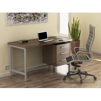 Компьютерный стол Loft design L-45 Орех Модена