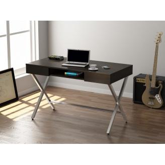 Письмовий стіл Loft-design L-15 1200х780х600 мм лдсп венге-корсика