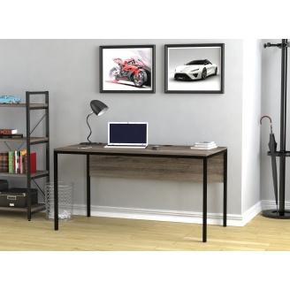 Письмовий стіл Loft-design L-3p 1380х750х700 мм дсп дуб-палена