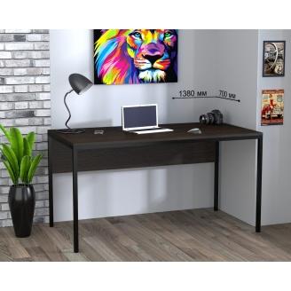 Письменный стол Loft design L-3p 1380х750х700 мм венге-корсика