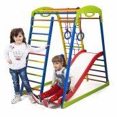 Дитячий спортивний комплекс для будинку SportWood Plus 1 SportBaby