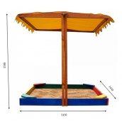 Дитяча пісочниця-23 SportBaby 145х145х140 см