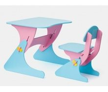 Письмовий стіл та стілець для дитини 2 роки