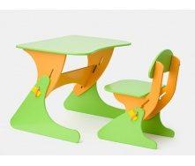 Детский стул и стол растущий