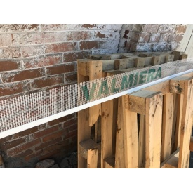 Профиль PVC оконный примыкания с армирующей сеткой и манжетой 2,4 м