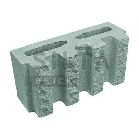 Блок декоративний Сілта-Брік Еліт 32 канелюрний 390х190х140 мм