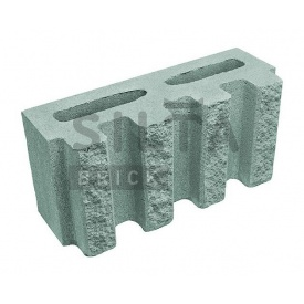 Блок декоративный Силта-Брик Элит 32 канелюрный 390х190х140 мм
