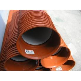 Пластиковая гофрированная труба для канализации SN10 250х3000 мм