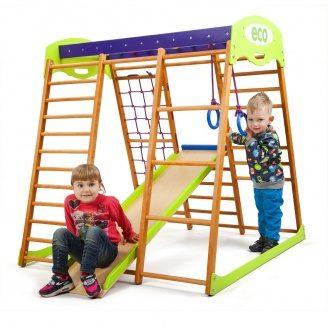 Детский спортивный комплекс для квартиры Карамелька мини SportBaby