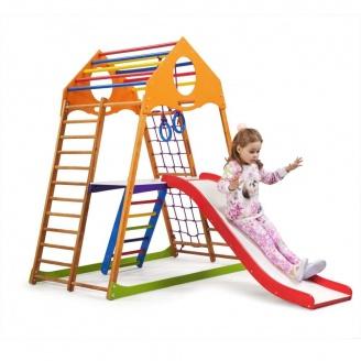 Детский спортивный комплекс для дома KindWood Plus 2 SportBaby