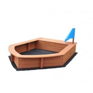 Песочница лодочка