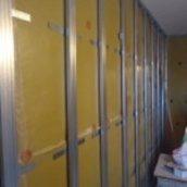 Звукоизоляция стены мембраной Тексаунд SY70, самоклейка, 3.7мм