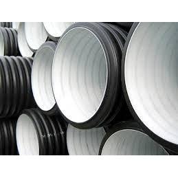 Труба канализационная двухслойная большого диаметра усиленного типа SN12 1000х3000 мм