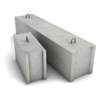 Фундаментный блок Каскад-Бетон ФБС 12.3.6-Т 1180х300х580 мм