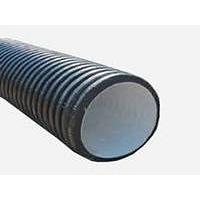Труба дренажная двухслойная К2-Дрен SN8 ПЕ OD с перфорацией 360 градусов 160х6000 мм