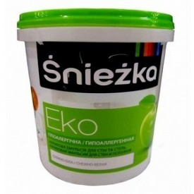 Краска интерьерная Sniezka Eko снежно-белая 1 л