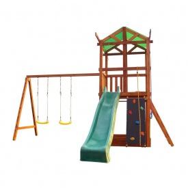 Деревянный игровой комплекс Sportbaby Babyland №3 3200х4100х4600 мм