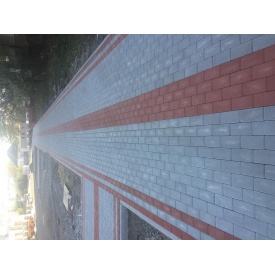 Тротуарна плитка кирпичек Золотой Мандарин 200х100 мм