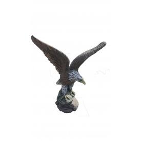 Орел бетонный окрашен акриллом 60 см
