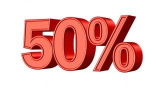 СКИДКИ 50 %