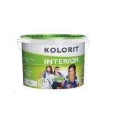 Краска интерьерная Kolorit Interior Эко 10 л