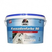 Краска фасадная Dufa Fassadenfarbe F90 матовая 2,5 л