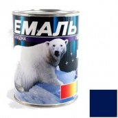 Эмаль Gaia ПФ-115 синяя 0,9 кг