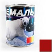 Эмаль Gaia ПФ-115 красная 0,9 кг